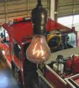 Oudste kooldraadlamp